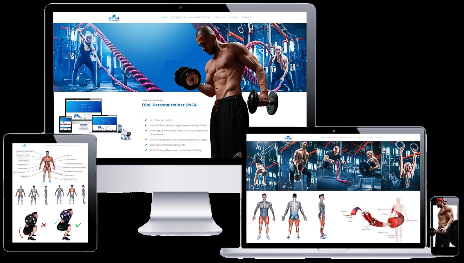 Fitnesstrainer Ausbildung online