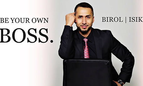 be your own boss - birol isik - mentalcoach, erfolgstrainer & seaker