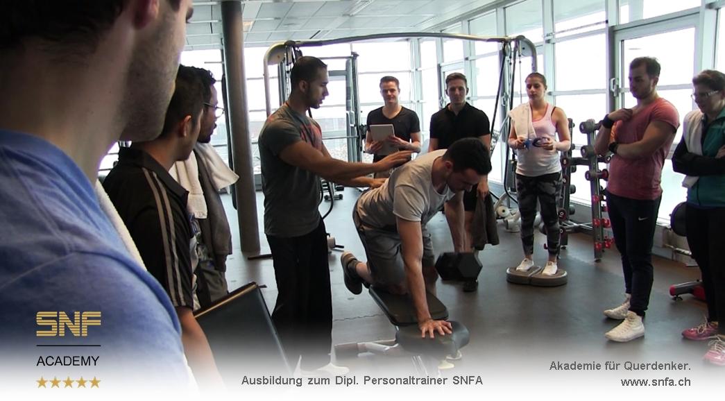 personal trainer ausbildung schweiz