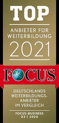 Focus Business_TOP_Anbieter für Weiterb