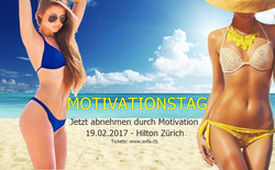 motivationstag strandfigur