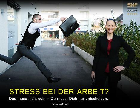 stress bei der arbeit?