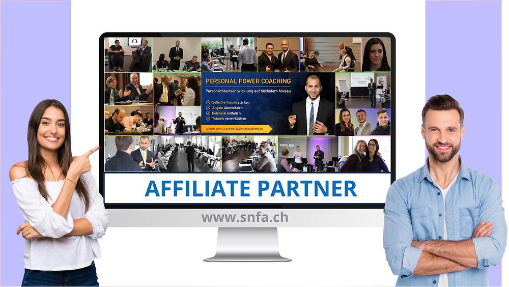 Affiliate Partner SNF Academy - Online Fitness Ausbildung