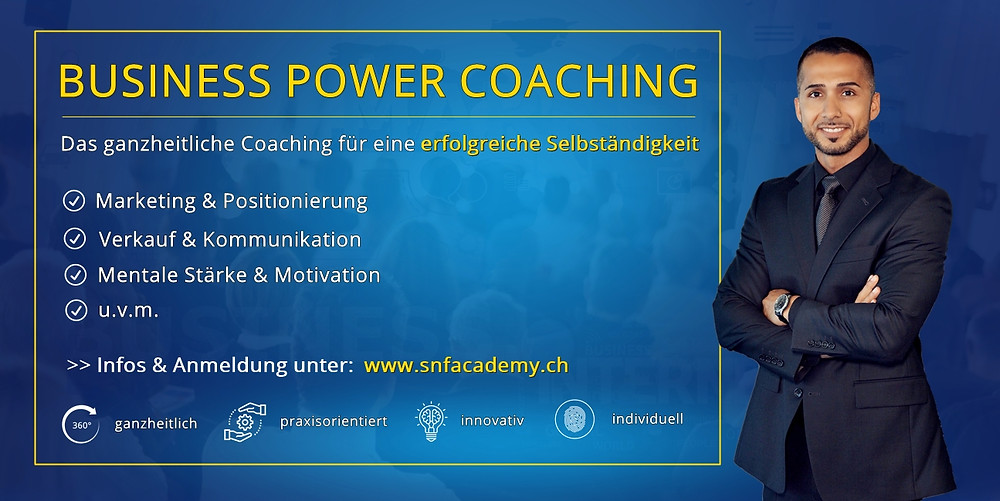 persönlichkeitsentwicklung coaching zürich