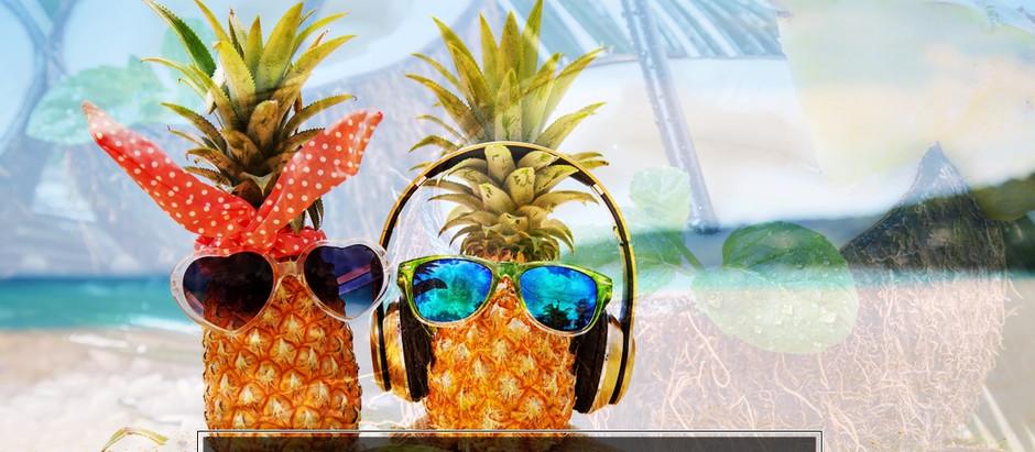 """Ananas, die Königin der Früchte- Blogreihe """"Heilkräfte der Natur"""""""
