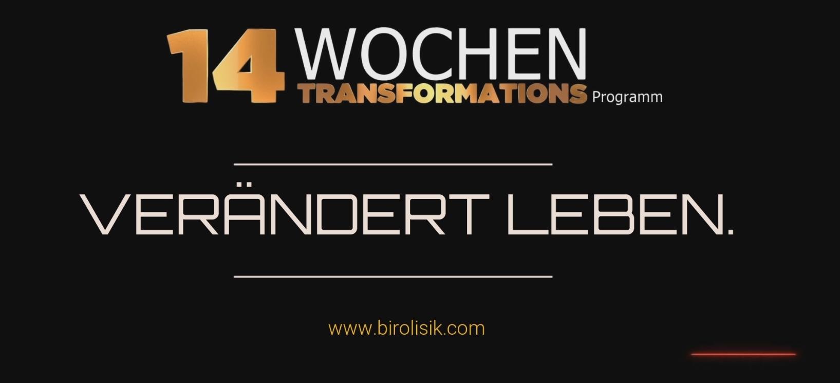 14 Wochen Transformationsprogramm