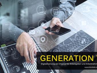 Generation Y - Digitalisierung als Chance für Arbeitgeber und Arbeitnehmer