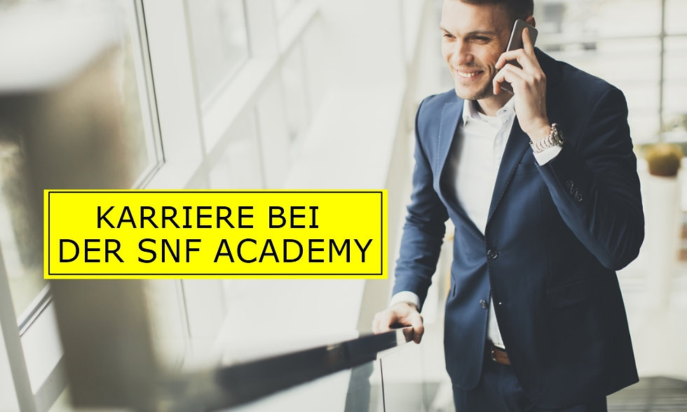 Stellenbeschrieb - Jobs SNF Academ