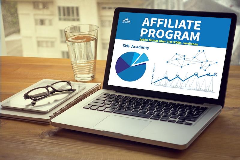 Affiliate Partner SNF Academy - passiv Geld verdienen mit Online Marketing