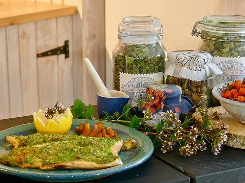 Wild Inspired @ Scottish Food Studio for Foraging Fortnight