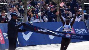 Aliphine Tulilamuk securing Olympic Marathon First Place Seat!