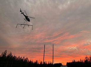 Helikopter hänglast