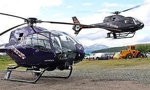 Rundflyg med helikopter