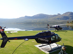 Sjöfallet helikopter bas