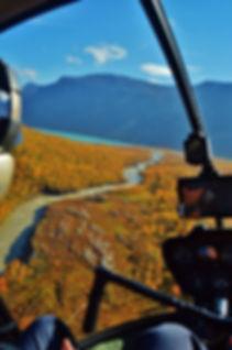 Navigationsflygning i Norrland