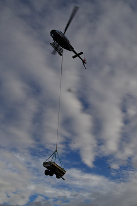 Helikopter fyrhjuling