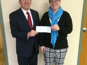 Fifth Third Bank Donates $10,000 to WHF