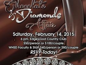 2014 Chocolate & Diamonds Affair - Saturday, February 14, 2015