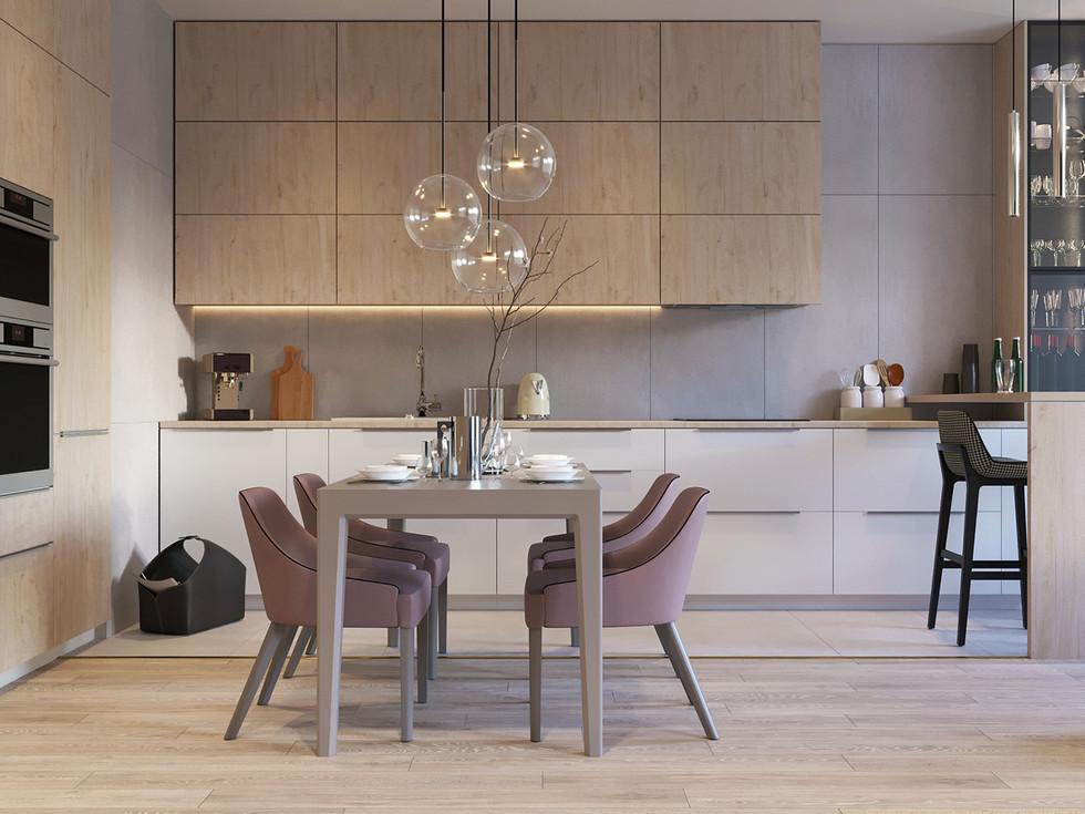 Кухня - столовая 1