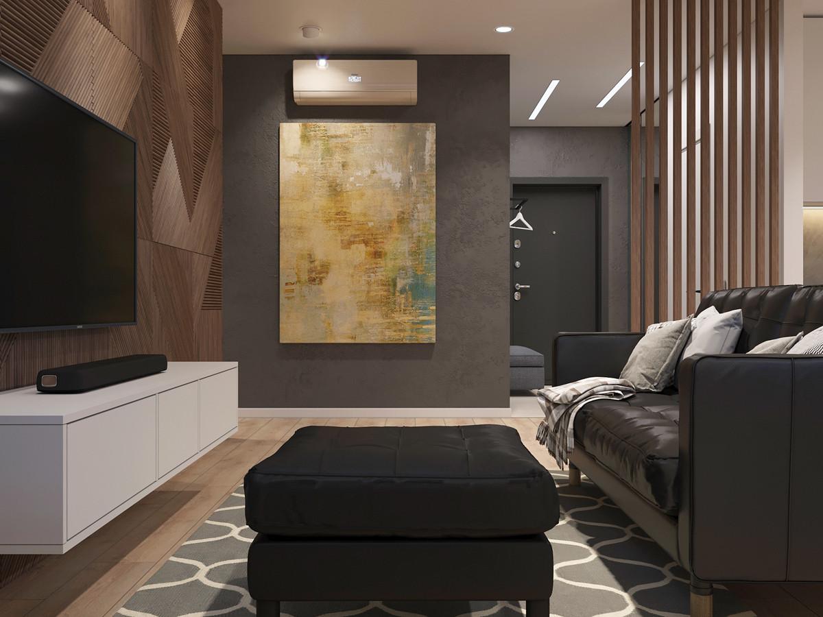 """Дизайн интерьера двухкомнатной квартиры в ЖК """"Тихая роща - 2"""""""