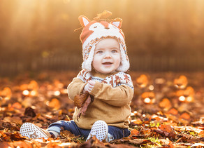 Magical Autumn Baby