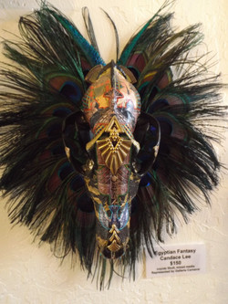 """Egyptian Fantasy"" - Coyote Skull"