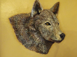 Wolf - Leather Art