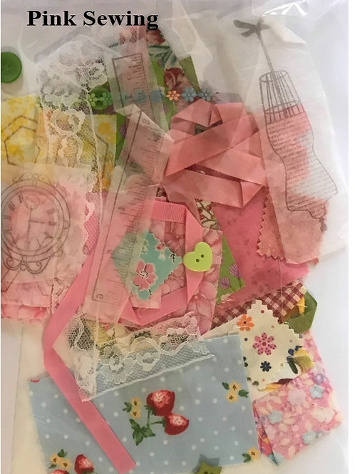 Vintage Patchwork Embroidery Kit