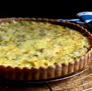 Cheese & Broccoli Quiche