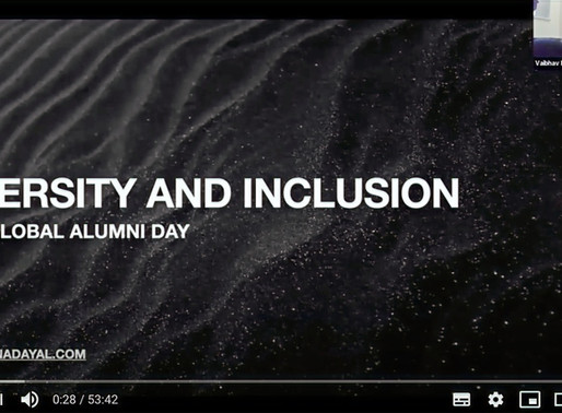 Diversity and Inclusion for HULT Global Alumni Day 2020: YouTube recording