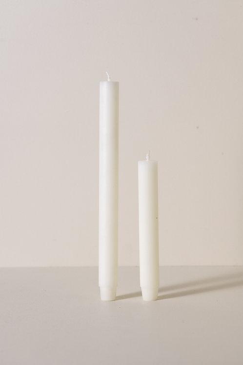 ŚWIECA STOŁOWA KOŚĆ SŁONIOWA 18,5 cm
