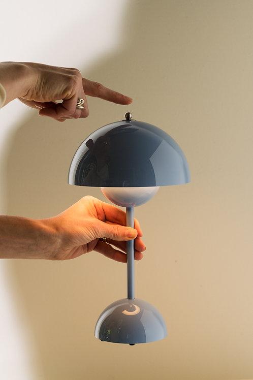 LAMPA STOŁOWA MAŁA BŁĘKIT