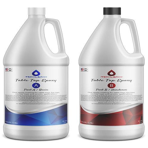 MiraKleer Table Top Epoxy - 2 Gallon kit