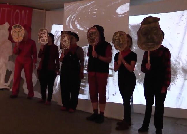 Revolution performance, Undercroft Norwich