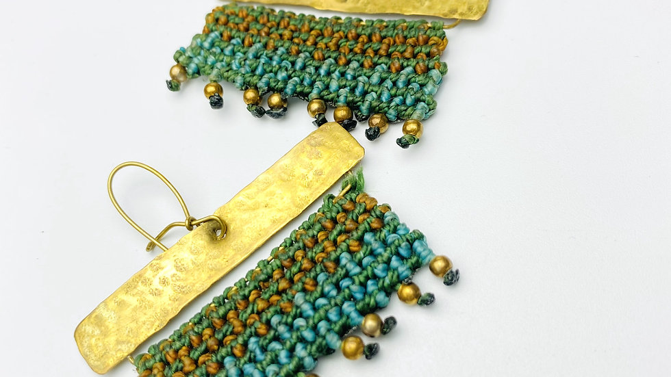 Melodic Macrame Earrings
