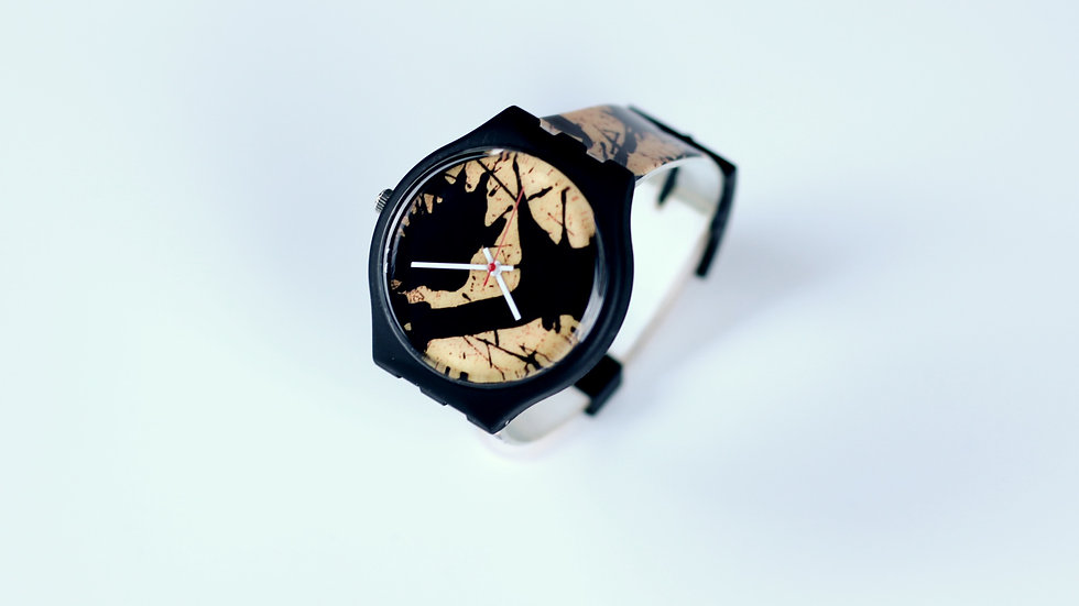 Pollock Inspired Timepiece