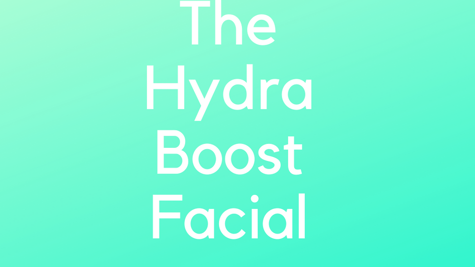 The Hydra Boost Facial Gift Voucher