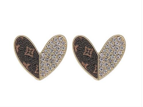 Everleigh Heart Earrings