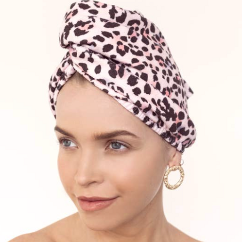 Keeping the Curls Chic Hair Wrap