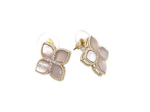 Mother of Pearl Princess Flower Studs