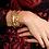 Thumbnail: Bolt And Crystal Cuff Bracelet | Beautiful Fashion Jewelry