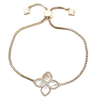 Mother of Pearl Princess Flower Bracelet