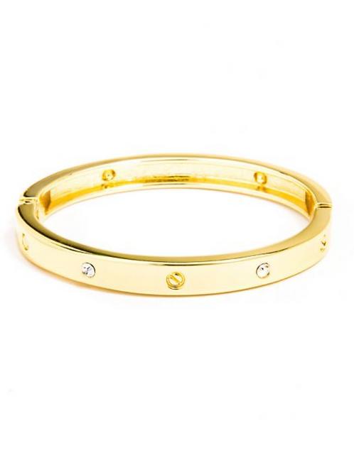 Bolt And Crystal Cuff Bracelet | Beautiful Fashion Jewelry
