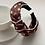 Thumbnail: Satin Letter Printed Knot Headband