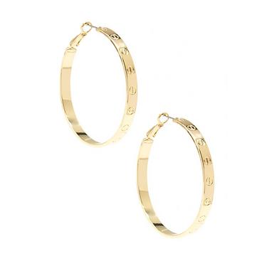 Cartier Look Alike Bolted Earrings