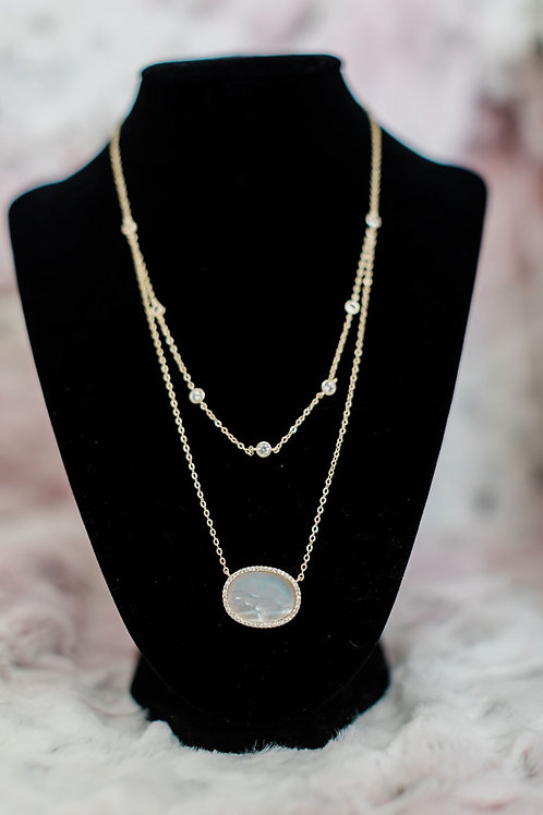 The Avery Double Necklace & Choker