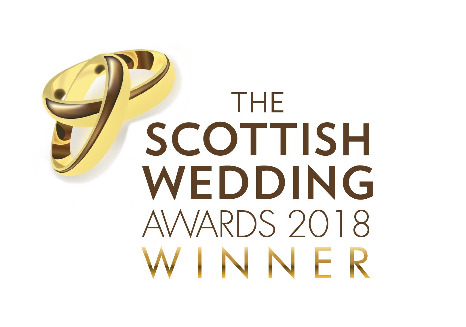 Overall Winner - The Scottish Wedding Awards 2018
