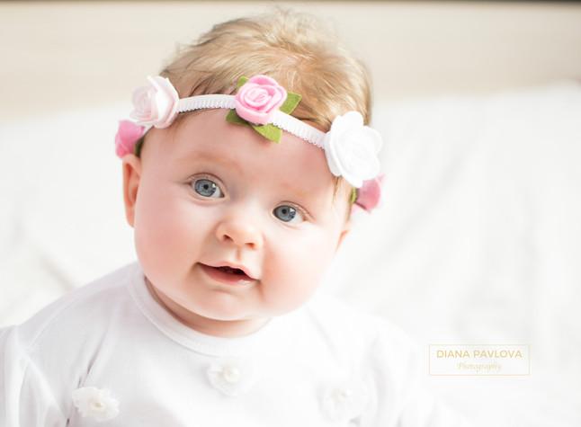 Sweet little flower girl