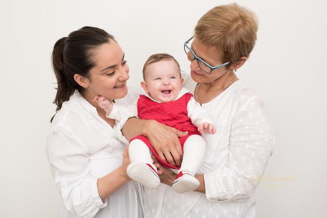 The three generation photo shoot