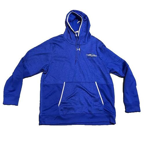UA MWA Hoodie Men's Blue Striped